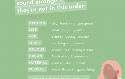 The 9 Types of Adjectives