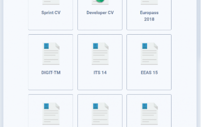 Developer CV — Let your CV be as great as you are!