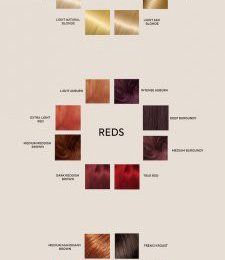 How to Pick the Best Hair Colour from the Hair Colour Chart