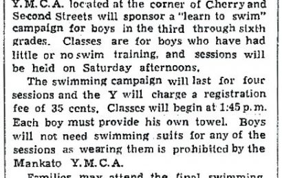 American High Schools Mandated Naked Swimming